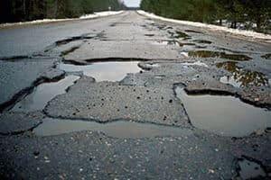 Жалоба на ямы дорогах образец